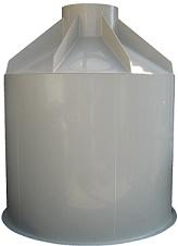 Plastové samonosné nádrže sú určené na osadenie pod úroveň