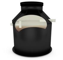 Plastové PP septiky samonosné