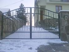Kované brány a ploty