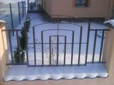 Zvárané brány a ploty zohýbaných profilov